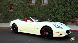 Ferrari California Custom - ferrari california white youtube