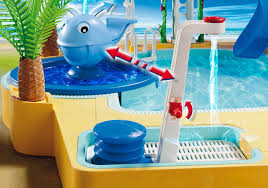 children s pool with whale fountain 5433 playmobil united kingdom