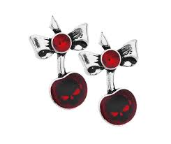 alternative earrings black cherry alternative earrings alchemy 88467