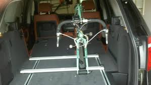Inside Bmw X5 Diy Interior Bike Rack
