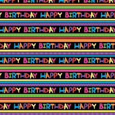 birthday gift wrap light bright birthday gift wrap roll ziggos party