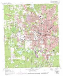 Map Of State Of Florida by Tallahassee Topographic Map Fl Usgs Topo Quad 30084d3