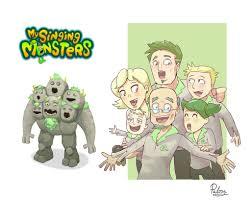My Singing Monster Quad Elemental Monsters On My Singing Monsters Deviantart