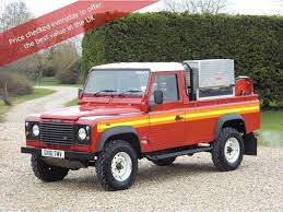land rover pickup for sale used land rover defender 110 pickup 2 5 td5 pick up 2dr in
