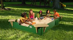 Sandboxes With Canopy And Cover by Sandlock 10 U0027 Rectangular Sandbox With Cover U0026 Reviews Wayfair