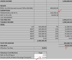 salary earner how to calculate your taxes using the new paye