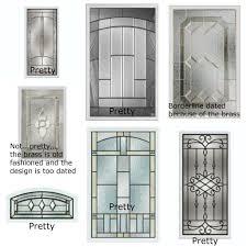 stained glass for front door glass insert for door