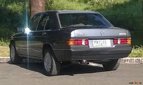classic mercedes sedan mercedes benz 190 1985 car for sale rizal tsikot com 1