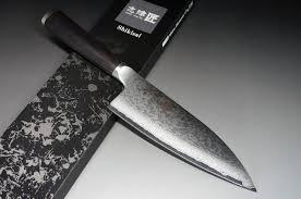 Tamahagane Kitchen Knives Tamahagane San Kyoto 63 Layer Damascus Western Deba 230mm Hocho