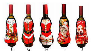 green socks aprons decorative wine bottle cover wine