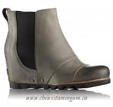sorel womens boots canada for sale sorel s lea wedge boot in grey canada shop