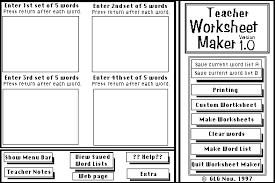 teacher worksheet maker ggallag958 aol com free download