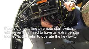 how to quickly diagnose a no start condition on a marine engine