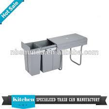 Kitchen Cupboard Garbage Bins by Kitchen Accessories Garbage Bin Design Kitchen Cabinet Plastic