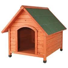 Large Igloo Dog House Trixie Log Cabin Large Dog House 39532 The Home Depot