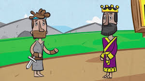 david and saul 1 samuel 24 youtube