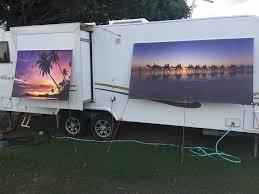 Rv Awning Mosquito Net Our Custom Printed Window Screens Are Van Tastic Caravan U0026 Rv