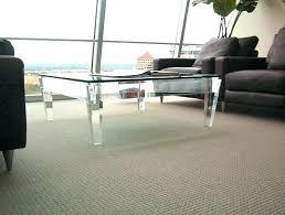 clear acrylic coffee table clear acrylic coffee tables square lucite coffee table acrylic