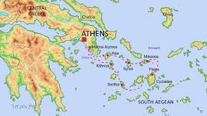 Ithaca Greece Map by Yacht Rent Greece Destinations Aa Charter Com