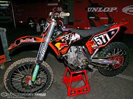behind martin davalos u0027 u002707 ktm 250 sx f photos motorcycle usa