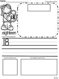 identifying numbers 11 20 kindergarten math worksheets math