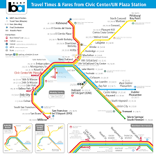 Washington Dc Metro Map Pdf by Bart Minutes U0026 Money U2013 Transit Maps By Calurbanist