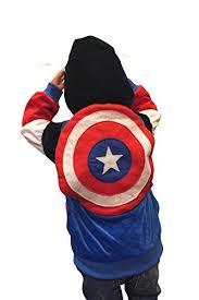 Captain America Halloween Costume Kids Captain America Movie Suits Halloween Girls
