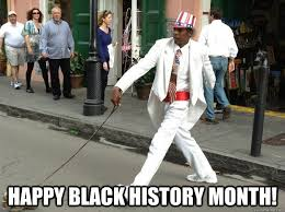 Funny Black History Month Memes - top caption happy black history month blackhistorymonth quickmeme