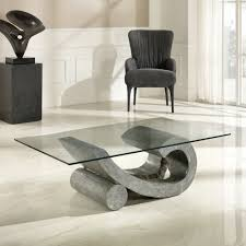 stone and glass coffee table fossil stone and glass coffee table madison