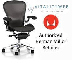 Herman Miller Aeron Executive Chair New Herman Miller Polished Aluminum Chrome Frame Executive Aeron