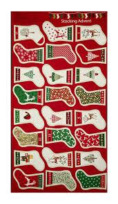 Large Christmas Rugs Metallic Printed Panel Fabric Com