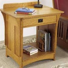 Arts And Craft Bookcase Woodworking Project Paper Plan To Build Arts And Crafts Bookcase Plan