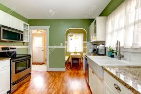 Kitchens With Green Cabinets by Beautiful Kitchens With White Cabinets And Green Walls Dark