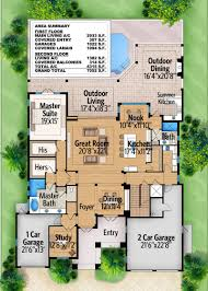 plan 86004bw rec room with outdoor balcony house plans theater