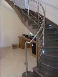 Steel Banister Rails Spiral Stainless Steel Handrail Stainless Steel And Metal Acma