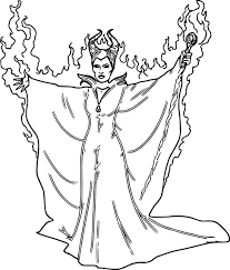 disney maleficent coloring pages wecoloringpage