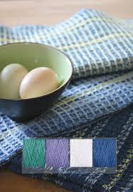 sale waffle weave dish towel kit seaglass weaving kit