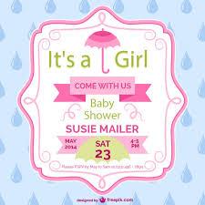 30 baby shower invitation vectors free vector