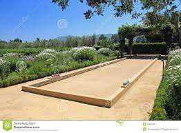 decor what is a bocce ball bocce court