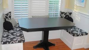 combined kitchen and dining room handcrafted kitchen nook tables from erik organic