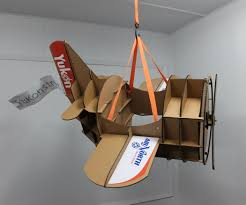 halloween airplane costume cardboard airplane from 3d model to parade costume 6 steps