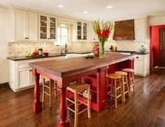 Kitchen Island Decorations Decorate My Space Hope U0027s Kitchen Red Kitchen Kitchen