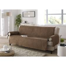 housse pour canapé protege fauteuil chocolat les douces nuits de maé linge de maison