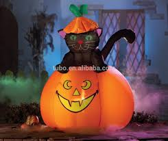 lighted halloween decorations sale inflatable halloween black cat for halloween decoration