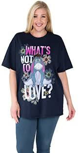 disney plus size t shirt eeyore what s not to