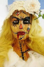 Scary Scarecrow Costume 233 Best Halloween Images On Pinterest Make Up Halloween Ideas