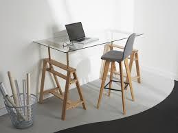 bureau bois foncé inspirations bureau 10 modèles en bois aux lignes épurées
