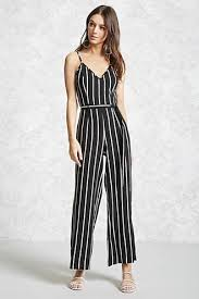 forever 21 white jumpsuit striped cami jumpsuit forever 21 the