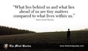henry david thoreau quotes on inspiration and spiritual