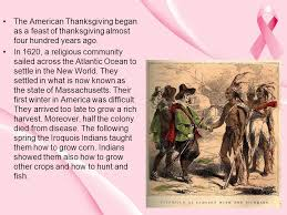 the american thanksgiving began as a feast of thanksgiving almost